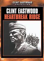 Heartbreak Ridge-Warner-(DVD, 2002)-Clint Eastwood-Region 1-Snapper Case