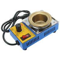 150W 50mm Soldering Desoldering Stainless Steel Plate Solder Pot  200-480°C ❤