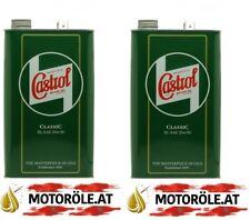 10l Castrol Classic XL 20W-50 Motoröl 2x 5Liter