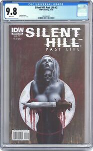 Silent Hill Past Life #2A CGC 9.8 2010 3816345021