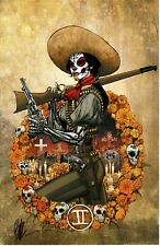 JOE BENITEZ - LADY MECHANIKA LA DAMA DE LE MUERTE #2 ART PRINT 11x17