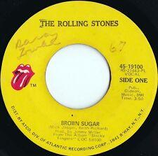Rolling Stones ORIG US 45 Brown sugar VG+ '71 19100 Blues Rock Keith Richards