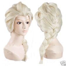 Frozen Elsa Snow Queen Blonde Wig Adult Size Fancy Dress Costume  Princess