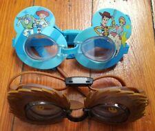 Swimways Swim Goggles Disney Star Wars Chewbacca & Toy Story Lot of 2