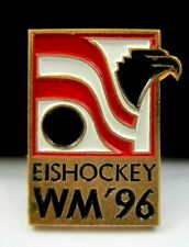 1996 Men's Ice Hockey World Championships Vienna ,Austria Official Pin Badge