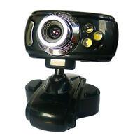 20 MegaPixel CMOS Webcam mit 3 LEDs + Mikrofon + USB webcam PC Kamera 3LED Skype
