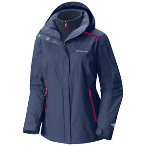 "New Womens Columbia ""Bugaboo"" 3in1 Omni-Heat Interchange Winter Jacket Parka"