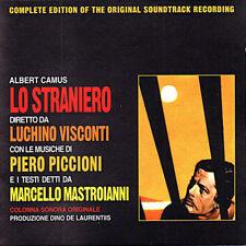 CD OST Piero Piccioni Lo Straniero Uomini Contro sigillato 1995 italy