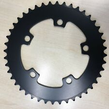 44T BCD:110 Chainring Chain Ring BMX Track Fixie Road Single Speed Bike black
