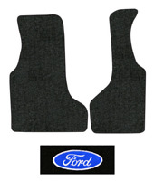 1999-2014 Ford E-350 Super Duty Floor Mats - 2pc Front - Cutpile | Fits: Van