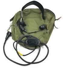 VINTAGE HEADSET RADIO PHONE SB-22D TA-312/PT PRC6 PRC8 PRC9 PRC10 PRC25 GRC106