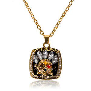 2005 Pittsburgh Steelers Necklace Championship Ring Inspired