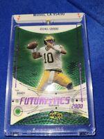 Tom Brady 2000 Upper Deck Ionix RC Rookie Card #77  0141/2000 🐐GOAT