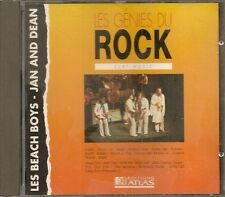 MUSIQUE CD LES GENIES DU ROCK EDITIONS ATLAS - BEACH BOYS - JAN AND DEAN N°5