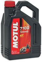 Motul 7100 Synthetic Ester 4T Motor Oil 10W-40 4 Liter 4 liters 10W40 836341