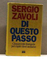 DI QUESTO PASSO - S. Zavoli [Libro, Nuova Eri edit.]