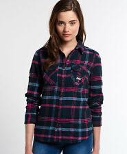 Superdry Chemise Milled Flannel Pour femme Rose