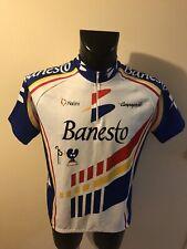 Maillot Cycliste Ancien Banesto Taille 6