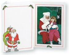 TAP Christmas Santa Claus Photo Folders for 4x6 Pictures ( Pkg. / 100 )
