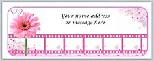 Personalized Address labels Pink Daisy Flower Buy 3 Get 1 Free (bo 982)