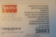 Laminating Pouches Sparco Tag 10 Packs - 28882 4.5'' X 6.5'' 10 Total Brand New