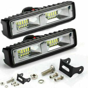 Car LED Work Light 48W Flood Lamp For Car SUV Off Road Jeep Truck Boat 12V 24V G