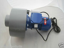 Estrattore centrifugo industriale Ventilatore Soffiatore 900m3/hr HIGH POWER 0.25 KW UK Plug