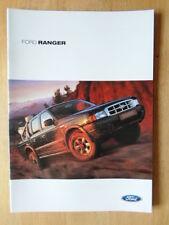 FORD RANGER 2002 UK Mkt Sales Brochure - Regular Cab Super Cab Double Cab