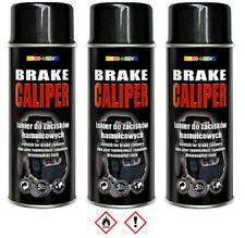 3 Stück 400ml schwarz Bremssattellack Lack Bremslack Bremsen Sattel Tuning 25353
