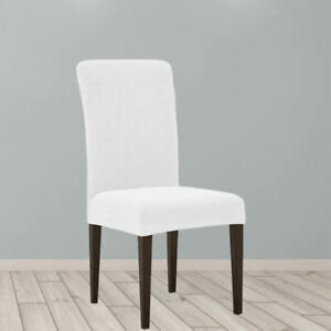Dining Room Chair Slipcovers Removable Seat Protector for Wedding Home Hotel
