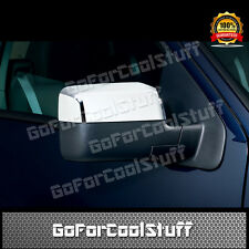 For 04 05 06 07 08 Ford F150 F-150 Chrome Mirror Covers Top Half Part