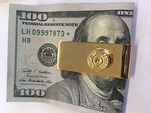 Gold Plated Bullet Money Clip