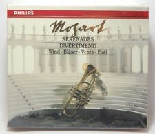 Mozart: Serenades and Divertimenti for Winds ~ New 6-CD Box Set (1990, Philips)