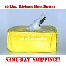 10 lb. African Shea Butter Yellow 100% Pure Raw Organic Unrefined Bulk Wholesale