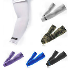 1 Pair Cycling Golf Arm Sleeves Cover Warmers UV Sun Protection Oversleeves US
