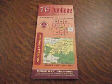 carte routiere ponchet nouvelle edition carte detaillee 15 banlieue paris