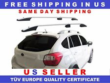 SUBARU XV SIDE RAILS ROOF RAILS ROOF RACKS FOR CARGO LUGGAGE 2013-2016 TUV / ABE