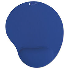 Innovera Mouse Pad w/Gel Wrist Pad Nonskid Base 10-3/8 x 8-7/8 Blue 50447