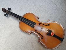 """Nice old 4/4 Maggini Violin violon  1part back, nicely flamed """"Franz Knittl"""""""
