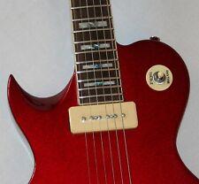 Acepro le paul E-Guitare, massivement Basswood, érable/palisander, p90, Gaucher