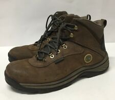 Timberland Mens Brown White Ledge Hiking Boots Shoe Size 11 M