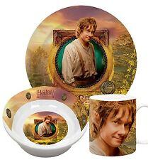 Hobbit  Frühstücksset  3teilig aus Porzellan