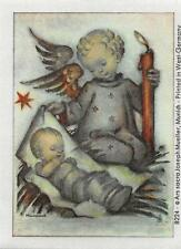 "RARITÄT Original Hummel Bilder auf echter Seide gedruckt Ars sacra Verlag ""1092"""