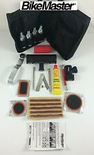 BikeMaster Motorcycle Tire Repair Kit Kawasaki Air Pump Patch Tube Inflate