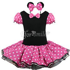 Girls Kids Pirate Fairy Tutu Party Dress Halloween Cosplay Costume Outfits +Ears
