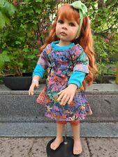 Pamela Erff Europe Edition 134/750 Hopeful Puppe Künstlerpuppe mit Zertifikat