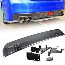 Carbon Fiber For Subaru WRX STI 4th STI Rear Diffuser Under Lip Spoiler Sedan