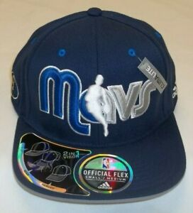 adidas Dallas Mavericks 2 in 1 Visor Flex Hat - Size: S/M - New