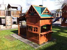 PREMIUM Kinderspielhaus Fiesta Playhouse inkl. picnic-Tisch + 2 Stühle Spielhaus