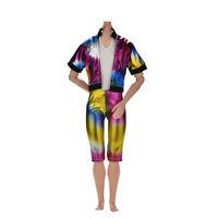 2 Pcs/set Fashion Colorful Rainbow Jacket Pant for  s Ke Ea